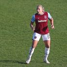 West Ham's Adriana Leon (pic Gavin Ellis/TGS Photo)