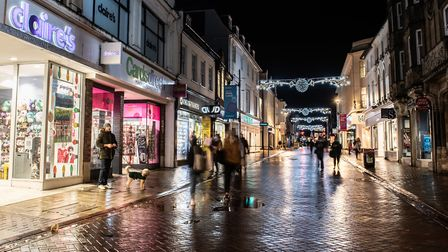Ipswich Central boss Paul Clement said the town proved popular for the first late night shopping of the year Picture...
