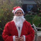 David Vincent took part in the virtual Santa Fun Fun for Colchester & Ipswich Hospitals Charity Pict