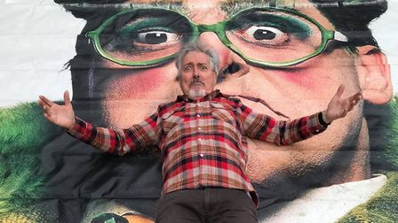 Griff Rhys Jones got the rich and famous to donate to Celebrity Bottom Drawer. Picture: NEIL DIDSBURY