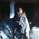 Anoushka Rabin, founder of Thread Wear, surrounded by denim. Picture: Anoushka Rabin