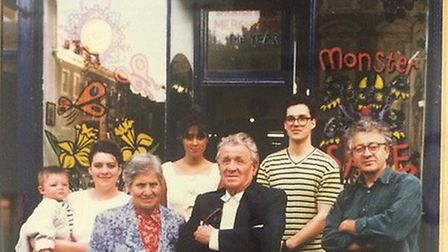 Four generations of the Moreno family have been involved in running their West Hampstead wine shop. Here Abbi Moreno is...