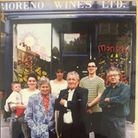Four generations of the Moreno family have been involved in running their West Hampstead wine shop. Here Abbi Moreno is with ...