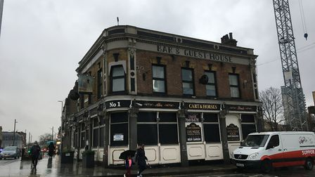 All being well the Cart and Horses in Maryland should reopen in March next year. Picture: Jon King