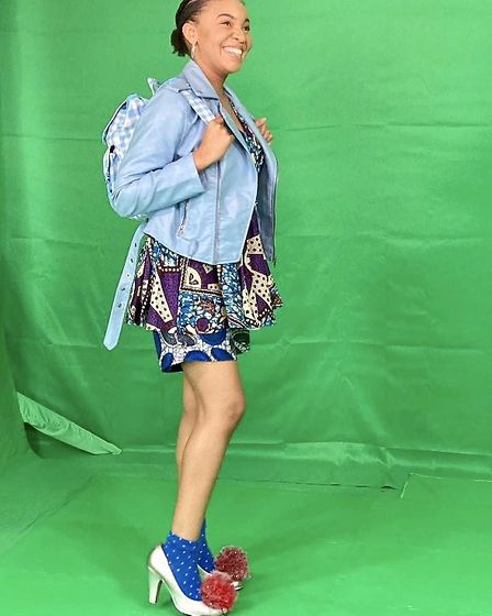 Chloe will be performing live from her bedroom which has been kitted out with green screen, webcams and theatre lights.