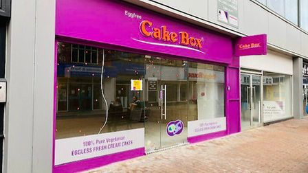 A former Superdrug store in Ipswich has become an Eggfree Cake Box shop Picture: PENN COMMERCIAL