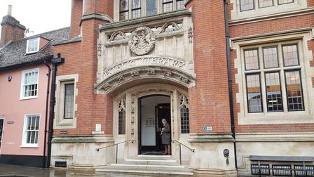 Ipswich County Library is closed after a member of staff contracted Covid-19 Picture: RACHEL EDGE