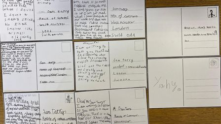 Pupils at the Uphall Primary School in Ilford have written to local MP Sam Tarry to express their concerns over littering...