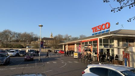 Tesco in Morning Lane, Hackney. Picture: Archant