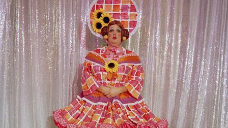 Mark Hudson, aged 37, has been playing the role of a pantomime dame every year for the last 16 years