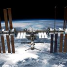 International Space Station: Photo by NASA via Getty Images