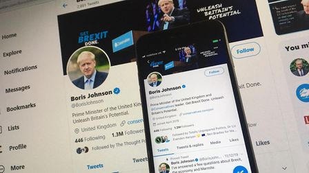 The BBC is considering a review of its journalists' use of Twitter. Picture: Archant