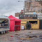The Junkyard Market has arrived in Ipswich. Picture: SARAH LUCYBROWN