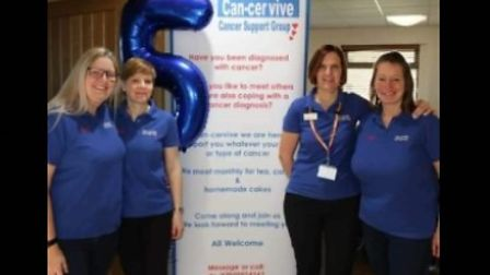 The Can-cervive cancer support group celebrates its fifth anniversary.