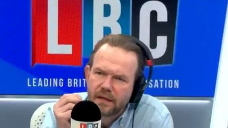 LBC presenter James O'Brien