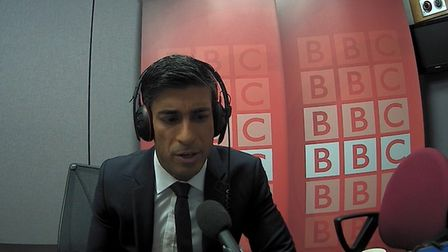 Rishi Sunak on the Today programme during the election campaign