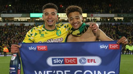 Ben Godfrey and Jamal Lewis, right, successfully graduated from the academy ranks at Norwich City Pi