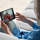 Tablets and technology video calling residential care Romford Care Home