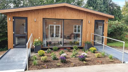 Romford Care Home day lodges and visitor pods