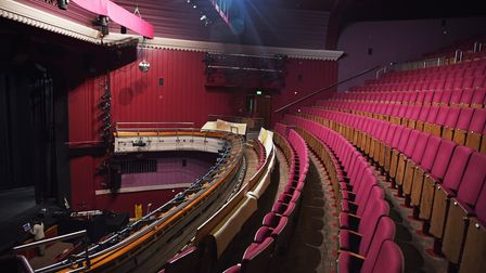 Norwich Theatre Royal prepare to open, with all new COVID measures in place, for their A Right Royal