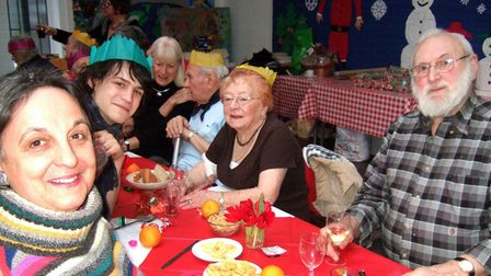 In previous years residents have been treated to a Christmas Day celebration at HCC with bingo and magic