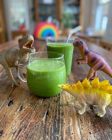 """""""Dino-juice', made by Billy in Reception"""