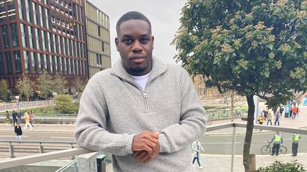 Former Hackney B6 College student and advocate Emmanuel Onapa.