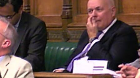 Brexit Bogeyman Iain Duncan-Smith in the House of Commons. Photograph: House of Commons.