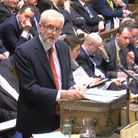 Jeremy Corbyn attacked Boris Johnson's removal of protections for refugee children in the Brexit bil