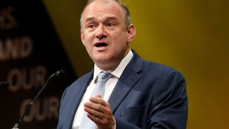 Sir Ed Davey has said that 2020 presents a 'huge opportunity' for the Lib Dems. Photograph: Jonathan