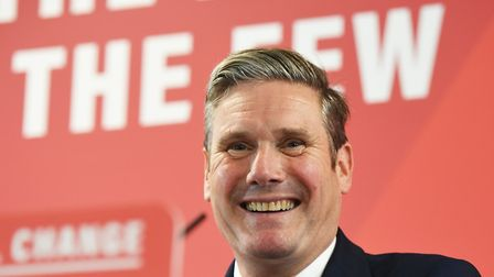 Sir Keir Starmer is the clear front-runner for the Labour leadership contest, according to a YouGov