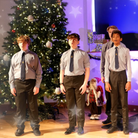 Sidcot Students performing in its Christmas concert.