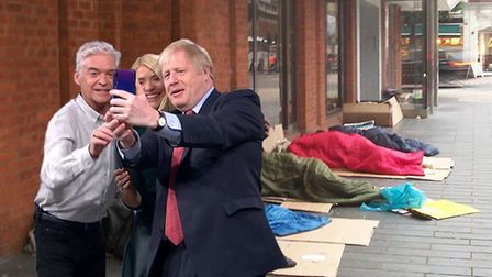 The This Morning presenters were criticised for having the opportunity to grill Boris Johnson, and i