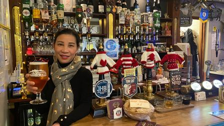 Aey Allen, owner of The Vine pub and Thai restaurant in Norwich, said she had lost half of her lunchtime trade due to Tier...