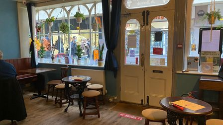 Inside The Vine pub and Thai restaurant in Norwich, which has been heavily impacted by the Tier 2 restrictions Picture...