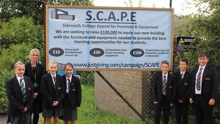 Students and staff are hoping the community can support the £100,000 fundraising effort. Picture: Ch