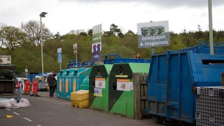 Exmouth recycling centre. Ref exe 18 18TI 2153. Picture: Terry Ife