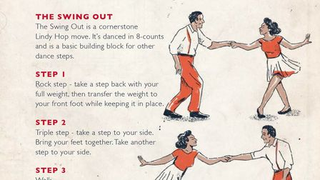 Swing dance tutorial from English Heritage