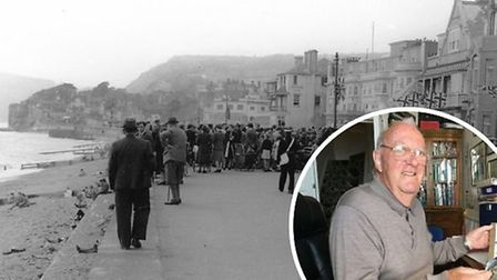 John Govier shared his memories of VE Day in Sidmouth. Picture: Archant and Sidmouth Museum