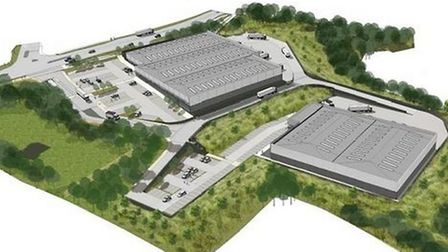 How the business park at Claylands, Paignton, may look