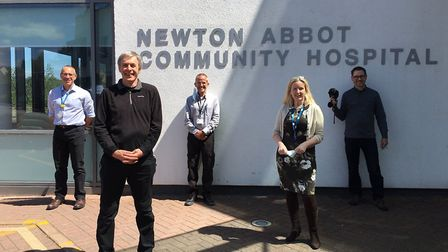 Thermal imaging scanners are being used at Newton Abbot Hospital
