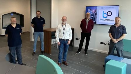 The Bay Photonics team at the EPIC Centre in Paignton
