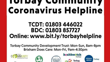 All who work on the Torbay Community Coronavirus Helpline have been nominated for a Torbay Weekly 'O