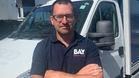 Adam Cliff, Bay Deliveries' operations manager