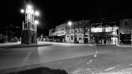A strangely quiet Torbay during lockdown Photo: Shot by Rob 4701-2