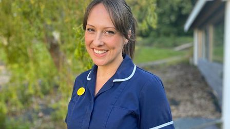 Angie Foulds, research nurse