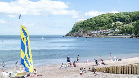 Babbacombe beach - Torbay and other seaside resorts are dependent on the hospitality sector. Photo: