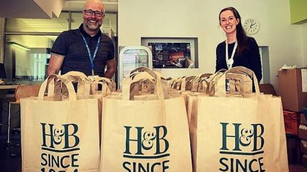 Holland and Barrett donate care packages to Torbay NHS staff