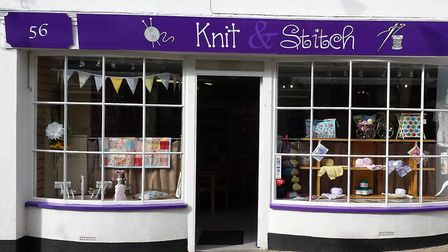 The Knit and Stitch craft shop in St Marychurch