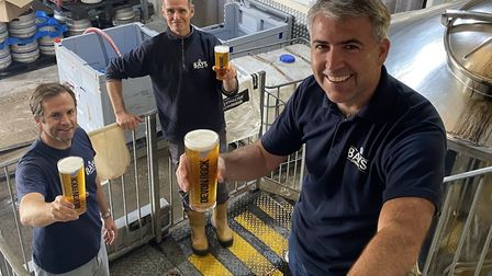 Bays Brewery staff say cheers to the community's support for them during the Covid-19 lockdown